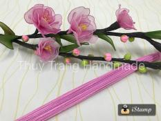 100 sợi Kẽm giấy Thái Lan số 24 (mềm) làm hoa giấy, hoa voan