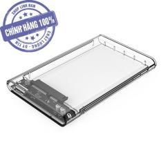 Hộp đựng ổ cứng 2.5 inch HDD box QGeeM C25B USB 3.0 trong suốt