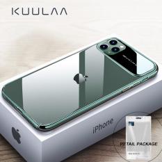 Ốp Lưng KUULAA Cho iPhone 11 Pro Max, Vỏ Bọc Điện Thoại Bằng Kính Cường Lực Chống Sốc Cho iPhone 11 Pro Max