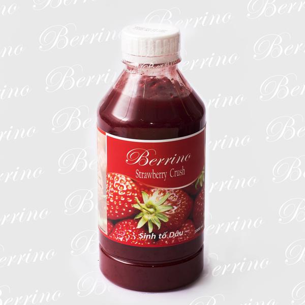 Sinh tố dâu tây Berrino (Berrino Strawberry Crush) 1L