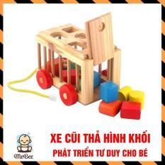 Xe thả hình khối – đồ chơi giáo dục an toàn cho bé SHOPMEBEE