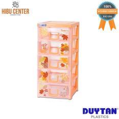 Tủ nhựa Duy Tân Tomi-S 5 ngăn – Đủ màu (15.5 x 19 x 34 cm) No.1136/5