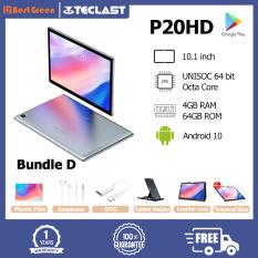 【Phiếu giảm giá lớn】 Máy tính bảng Teclast P20HD 10.1 inch IPS 1920×1200 UNISOC 64 bit Octa Core 4GB RAM 64GB ROM Máy tính bảng Android 10.0 Hỗ trợ thẻ TF / Bluetooth 5.0 / WIFI kép / GPS / Thẻ SIM kép 4G Máy tính bảng Gọi điệ
