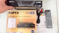 combo 5 Đầu thu DVB T2 TOP T2 xem miễn phí