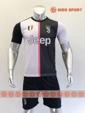 Bộ quần áo bóng đá đồ đá banh JUVE 19-20 trắng đen mới