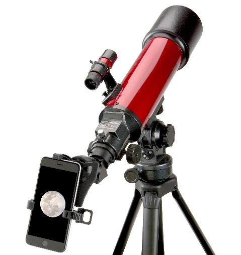 [Trả góp 0%]Kính viễn vọng Carson RP-200SP zoom 25-56x80mm đi kèm với một bộ điều hợp điện thoại thông minh (Hãng Carson – Mỹ)