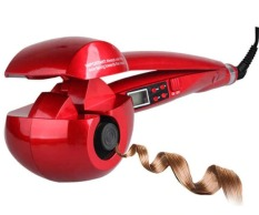 Máy uốn tóc LCD Pro Salon , Tự động uốn tóc Con lăn bằng thép uốn tóc Titan Sóng làm nóng Máy tạo kiểu tóc.