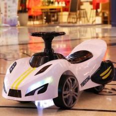 xe chòi chân cho bé – oto chòi chân cho bé – XE LẮC – kiểu mới có đèn có nhạc – xe cho bé 1-4 tuổi