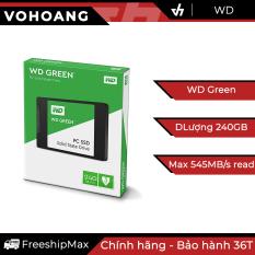 SSD 240GB WD Green – Ổ cứng thể rắn chính hãng, tốc độ cao, bảo hành 3 năm