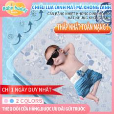 [Chiếu trẻ em] Chiếu lụa lạnh trẻ em thoáng khí có thể lau sạch, chiếu sợi lạnh cho trẻ sơ sinh, chiếu ngủ trưa mùa hè của trẻ mẫu giáo, đệm mát của trẻ sơ sinh, chiếu lót thay tả cho em bé mới sinh