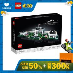 LEGOARCHITECTURE 21054 Nhà Trắng ( 1483 Chi tiết)