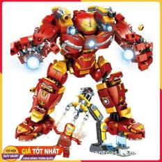 Lego Xếp Hình Ninjago Iron Man ( Người Sắt ) 2018. Gồm 568 chi tiết. Lego Ninjago Lắp Ráp