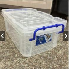 Hộp nhựa đựng thực phẩm Song Long 2222-1 có quai có nắp to đẹp dày chắc chắn nhựa PP chất lượng cao an toàn