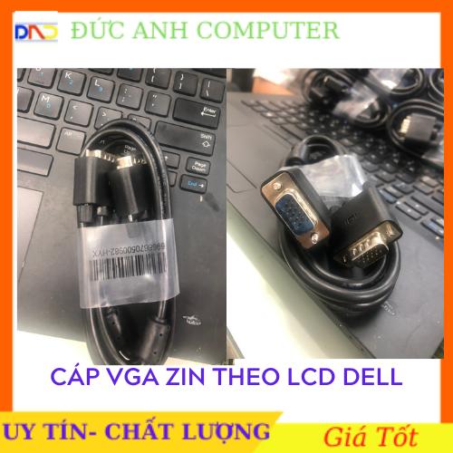 Cáp Vga 1M8 hàng zin theo LCD Dell/ LCD Samsung – Cáp Vga Zin, Cáp Theo Màn Hình, Chuẩn Hình Ảnh