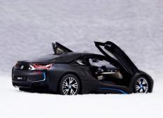 Ô tô mô hình trưng bày BMW I8 Rastar 1:24 (Đen)