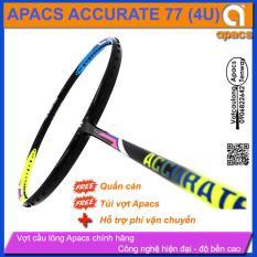 Vợt cầu lông Apacs Accurate 77 (4U) – Thân dẻo dễ thuần màu sắc hiện đại