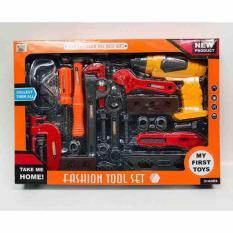 Bộ đồ chơi sửa chữa máy khoan dùng pin 36778-79