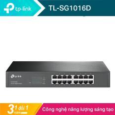TP-Link Switch 16 cổng RJ45 10/100/1000Mbps Gắn tủ/ Để bàn – TL-SG1016D – Hãng phân phối chính thức