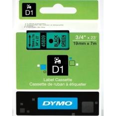Nhãn in Dymo D1 19mm x 7m đen trên xanh lá S0720890
