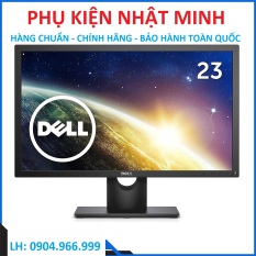 Màn hình Dell E2318H 23inch FullHD/60Hz màn hình chơi game, làm việc, học tập giá rẻ NEW chính hãng bảo hành 36 tháng