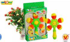 đồ chơi trẻ em dưới 1 tuổi Xúc Xắc Quả Khế Bé cầm nắm phát triển nhận biết âm thanh màu sắc MonShop