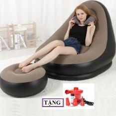 Ghế hơi,ghế lười, ghế sofa, ghế hơi tựa lưng, sofa hơi [ TẶNG KÈM BƠM] ghế sofa hơi êm ái