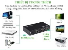 Bộ Chia 1 HDMI Ra 2 HDMI Chính Hãng UGREEN 40201 Cao Cấp