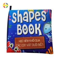 SHAPES BOOK (17x17cm) – BÉ LÀM QUEN HÌNH KHỐI QUA SINH VẬT BIỂN