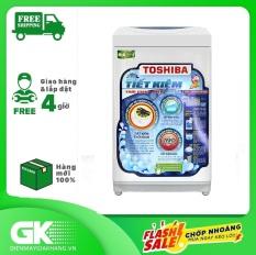 Máy giặt cửa trên TOSHIBA AW-A800SV(WB) 7 kg, mâm giặt Hybrid Powerful, lồng giặt thiết kế thoát nước nhanh – Bảo hành 24 tháng