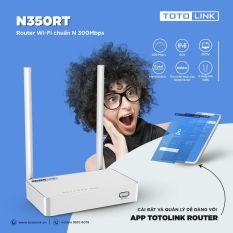 Router Wifi Chuẩn N 300Mbps Totolink N350RT – Hãng Phân Phối Chính Thức