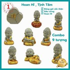 Bộ tượng phật gồm 8 tượng phật cầu may mắn- hạnh phúc – sức khỏe – bình an cho gia đình phù hợp để trang trí trong phòng khách – phòng làm việc – shop – kệ trưng bày – xe ô tô