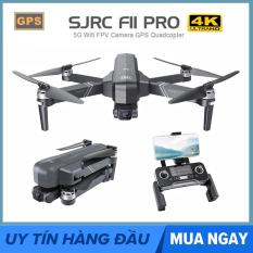 [ BẢN NÂNG CẤP KÈM BALO ] Flycam SJRC F11 PRO Camera 4k Gimbal trống rung 2 Trục bản nâng cấp của SJRC F11 PRO – Camera 4K – Bay 25 Phút – 2 GPS
