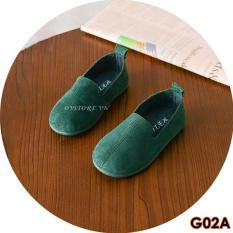 Giày Lười Da Lộn Phong Cách Cho Bé G02