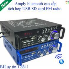 Âm Ly Hàn Quốc 506.Ampli Bluetooth Tely-Blj253 Cao Cấp Đa Năng (Giá Off-50%) Là Top 10 Amply Gây Bão Với Bluetooth Kết Nối 4.0 Cho Công Xuất Cực Lớn.Bh 12T Đổi Mới Mã 983
