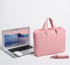 Túi đeo chéo kiêm túi bảo vệ laptop fopati d18 màu hồng, cam kết hàng đúng mô tả, chất lượng đảm bảo an toàn đến sức khỏe người sử dụng, đa dạng mẫu mã, màu sắc, kích cỡ