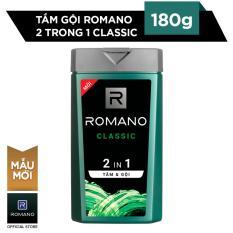 Tắm gội 2 trong 1 Romano Classic 180g