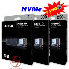 Ổ cứng SSD M.2 PCIe NVMe Lexar NM600 240GB 480GB 960GB – bảo hành 3 năm – SD20 SD25 SD65