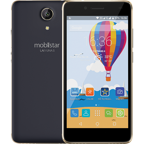 Điện thoại Mobiistar Lai Yuna S (1GB/8GB) – Hàng chính hãng – Màn hình 5 inch, Camera trước và sau 8MP, Pin 3000mAh