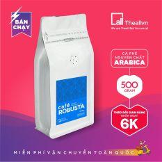 Cà phê Robusta nguyên chất (500GR), Cà phê rang mộc 100%. Cà phê pha phin hoặc cà phê pha máy – Theallvn