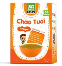 Cháo Tươi Nhuyễn Sài Gòn Food Thịt thăn & Cà rốt 150g