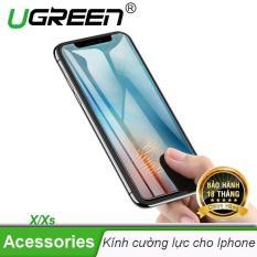 Miếng dán cường lực, kính cường lực UGREEN cho điện thoại Iphone X/Xs UGREEN 50948 – Hãng phân phối chính thức