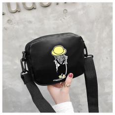 Túi xách nữ đeo chéo sang chảnh Túi hộp hình cô gái TXN54 đeo vai chất da Pu mềm đẹp