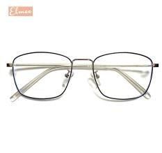 Gọng kính cận dáng vuông Elmee – kính mắt nam nữ gọng kim loại cao cấp, có cắt mắt cận