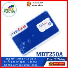 Sim 4G Mobifone MDT250A Trọn gói 1 năm giống F500 (4GB/Tháng) – SIM MDT250A