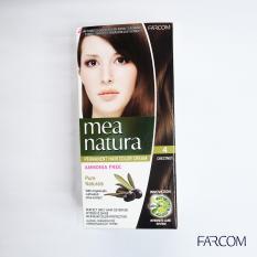 Màu Nhuộm Organic Mea Natura Farcom (150ml) – Màu Phủ Bạc Đen Nâu 4.0
