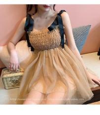 Đầm dây công chúa – dưới 47kg mặc đẹp – MIN Boutiques – Ảnh thật – nhiều màu đẹp