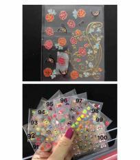Sticker dán móng mẫu nhỏ