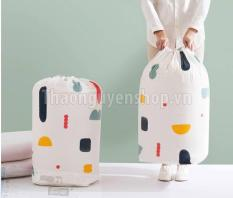 Túi đựng chăn màn quần áo dạng tròn (mẫu ngẫu nhiên)