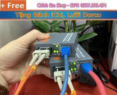 Bộ chuyển đổi quang ra Lan Netlink HTB-3100 A và B (Tặg Bánh iChi, Lưỡi D0rco)