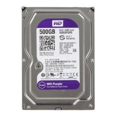 Ổ cứng chuyên dụng Camera HDD Western Purple 500GB tím (bảo hành 2 năm)